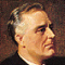 Franklin Roosevelt, 32nd US President, 1933-1945