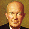 Dwight Eisenhower, 34th US President, 1953-1961