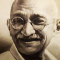 Mahatma Gandhi, Led India to Independence